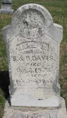 DAVIS, ANNA J. - Washington County, Nebraska   ANNA J. DAVIS - Nebraska Gravestone Photos