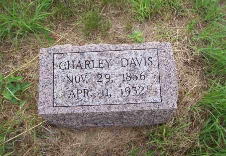 DAVIS, CHARLEY - Washington County, Nebraska | CHARLEY DAVIS - Nebraska Gravestone Photos
