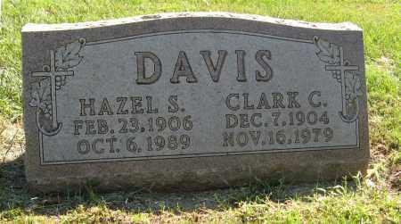DAVIS, CLARK C. - Washington County, Nebraska | CLARK C. DAVIS - Nebraska Gravestone Photos
