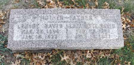 DAVIS, LOUISE - Washington County, Nebraska | LOUISE DAVIS - Nebraska Gravestone Photos