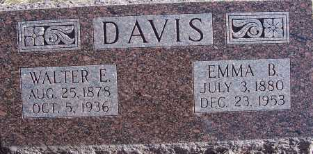DAVIS, EMMA B. - Washington County, Nebraska | EMMA B. DAVIS - Nebraska Gravestone Photos