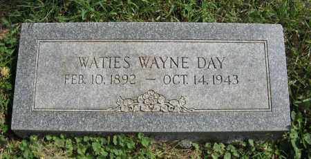 DAY, WATIES WAYNE - Washington County, Nebraska   WATIES WAYNE DAY - Nebraska Gravestone Photos