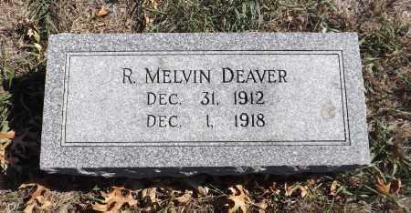 DEAVER, R. MELVIN - Washington County, Nebraska   R. MELVIN DEAVER - Nebraska Gravestone Photos