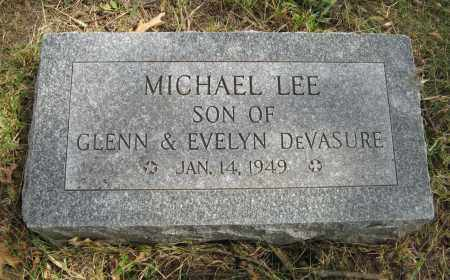 DEVASURE, MICHAEL LEE - Washington County, Nebraska | MICHAEL LEE DEVASURE - Nebraska Gravestone Photos