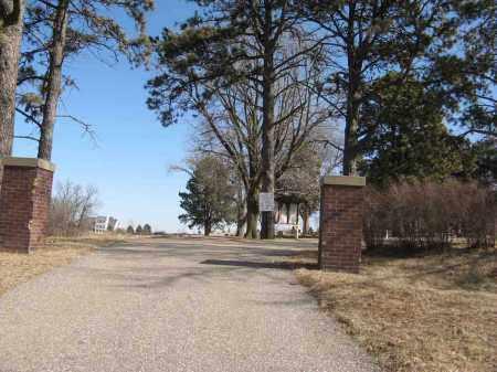 *FORT CALHOUN, ENTRANCE - Washington County, Nebraska | ENTRANCE *FORT CALHOUN - Nebraska Gravestone Photos