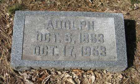 FRAHM, ADOLPH - Washington County, Nebraska | ADOLPH FRAHM - Nebraska Gravestone Photos