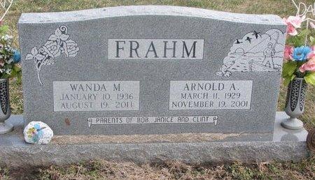 FRAHM, WANDA MELVINA - Washington County, Nebraska | WANDA MELVINA FRAHM - Nebraska Gravestone Photos
