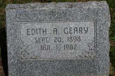 GEARY, EDITH A. - Washington County, Nebraska | EDITH A. GEARY - Nebraska Gravestone Photos
