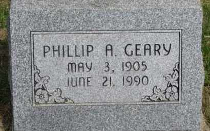 GEARY, PHILLIP A. - Washington County, Nebraska | PHILLIP A. GEARY - Nebraska Gravestone Photos