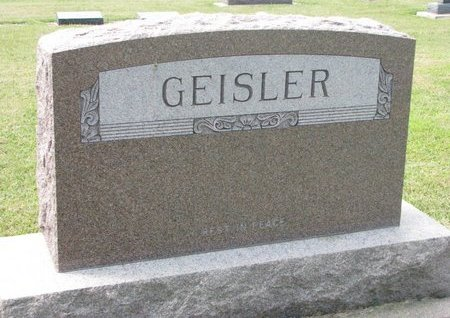 GEISLER, *FAMILY MONUMENT - Washington County, Nebraska | *FAMILY MONUMENT GEISLER - Nebraska Gravestone Photos