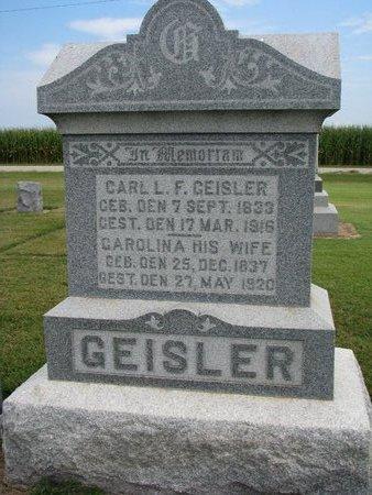 GEISLER, CARL L.F. - Washington County, Nebraska | CARL L.F. GEISLER - Nebraska Gravestone Photos
