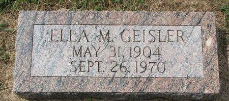 SCHUETTE GEISLER, ELLA M. - Washington County, Nebraska | ELLA M. SCHUETTE GEISLER - Nebraska Gravestone Photos