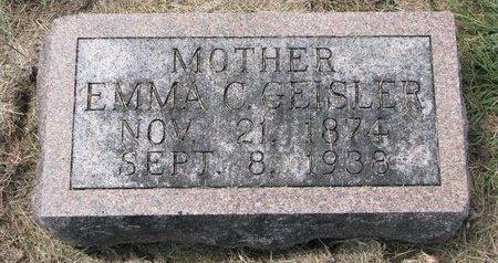 GEISLER, EMMA C. - Washington County, Nebraska | EMMA C. GEISLER - Nebraska Gravestone Photos