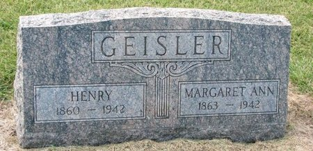 GEISLER, HENRY - Washington County, Nebraska | HENRY GEISLER - Nebraska Gravestone Photos