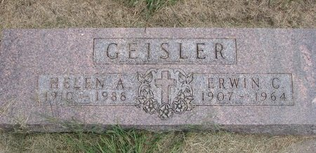 GEISLER, HELEN A. - Washington County, Nebraska | HELEN A. GEISLER - Nebraska Gravestone Photos