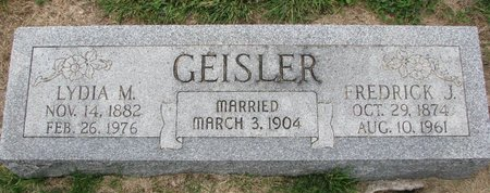 GEISLER, LYDIA M. - Washington County, Nebraska | LYDIA M. GEISLER - Nebraska Gravestone Photos