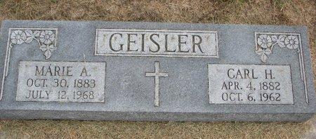 GEISLER, CARL H. - Washington County, Nebraska | CARL H. GEISLER - Nebraska Gravestone Photos