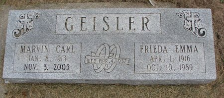 TIMME GEISLER, FRIEDA EMMA - Washington County, Nebraska | FRIEDA EMMA TIMME GEISLER - Nebraska Gravestone Photos