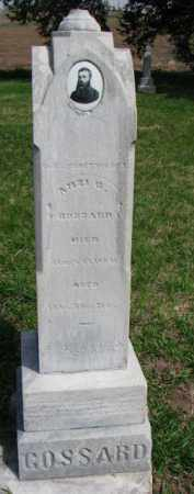 GOSSARD, AMZI G. - Washington County, Nebraska | AMZI G. GOSSARD - Nebraska Gravestone Photos