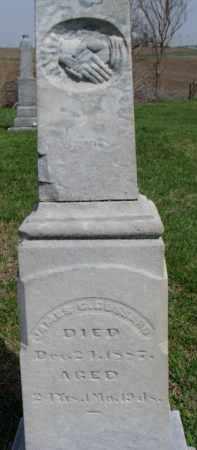 GOSSARD, JAMES G. - Washington County, Nebraska | JAMES G. GOSSARD - Nebraska Gravestone Photos