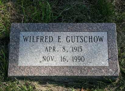 GUTSCHOW, WILFRED E. - Washington County, Nebraska   WILFRED E. GUTSCHOW - Nebraska Gravestone Photos