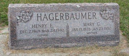 GEISLER HAGERBAUMER, MARY C. - Washington County, Nebraska | MARY C. GEISLER HAGERBAUMER - Nebraska Gravestone Photos