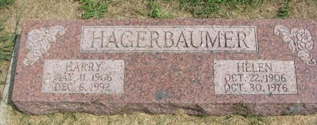 HAGERBAUMER, HARRY - Washington County, Nebraska | HARRY HAGERBAUMER - Nebraska Gravestone Photos