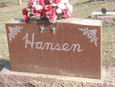 HANSEN, *FAMILY MONUMENT - Washington County, Nebraska | *FAMILY MONUMENT HANSEN - Nebraska Gravestone Photos