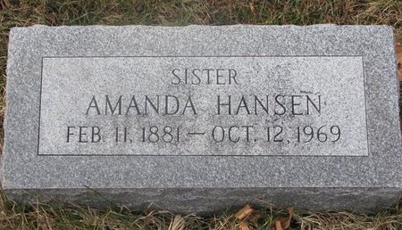 HANSEN, AMANDA - Washington County, Nebraska | AMANDA HANSEN - Nebraska Gravestone Photos