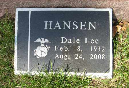 HANSEN, DALE LEE - Washington County, Nebraska | DALE LEE HANSEN - Nebraska Gravestone Photos