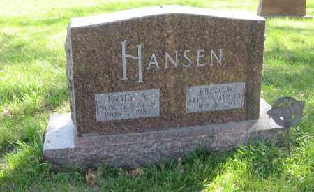 HANSEN, EMILY A. - Washington County, Nebraska | EMILY A. HANSEN - Nebraska Gravestone Photos