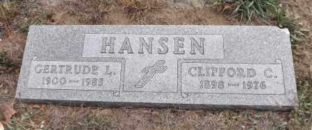 HANSEN, GERTRUDE L. - Washington County, Nebraska | GERTRUDE L. HANSEN - Nebraska Gravestone Photos