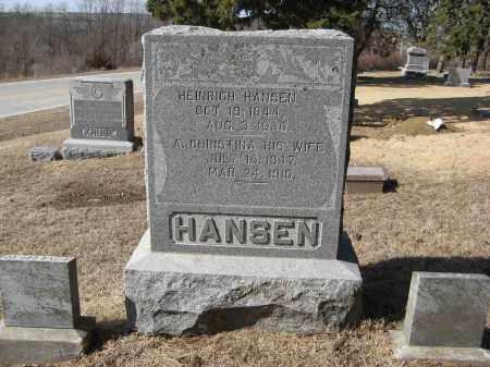 HANSEN, A. CHRISTINA - Washington County, Nebraska | A. CHRISTINA HANSEN - Nebraska Gravestone Photos