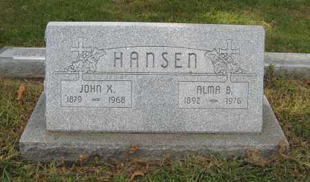 HANSEN, ALMA B. - Washington County, Nebraska | ALMA B. HANSEN - Nebraska Gravestone Photos