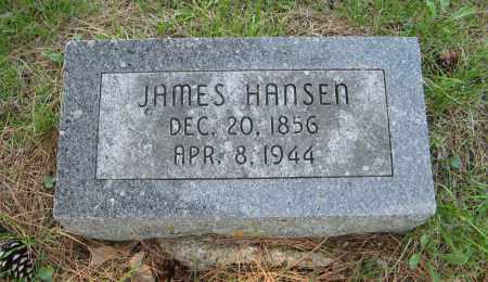 HANSEN, JAMES - Washington County, Nebraska | JAMES HANSEN - Nebraska Gravestone Photos