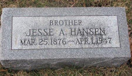 HANSEN, JESSE A. - Washington County, Nebraska | JESSE A. HANSEN - Nebraska Gravestone Photos