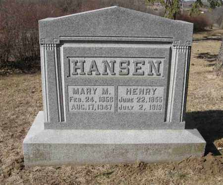 HANSEN, MARY M. - Washington County, Nebraska | MARY M. HANSEN - Nebraska Gravestone Photos