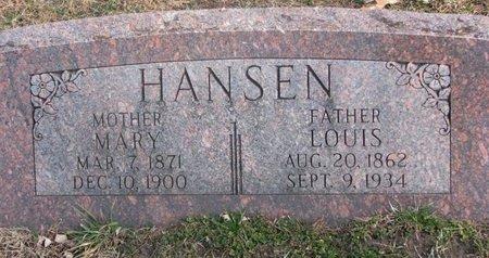 HANSEN, LOUIS - Washington County, Nebraska | LOUIS HANSEN - Nebraska Gravestone Photos