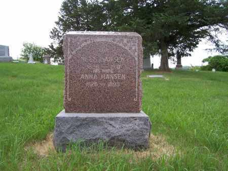 HANSEN, ANNA - Washington County, Nebraska | ANNA HANSEN - Nebraska Gravestone Photos