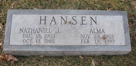 HANSEN, ALMA - Washington County, Nebraska | ALMA HANSEN - Nebraska Gravestone Photos