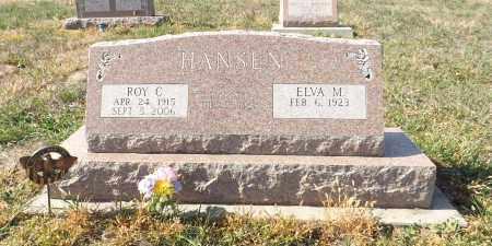HANSEN, ROY C. - Washington County, Nebraska | ROY C. HANSEN - Nebraska Gravestone Photos
