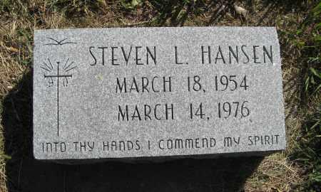 HANSEN, STEVEN L. - Washington County, Nebraska | STEVEN L. HANSEN - Nebraska Gravestone Photos