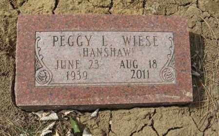 HANSHAW, PEGGY L. - Washington County, Nebraska | PEGGY L. HANSHAW - Nebraska Gravestone Photos
