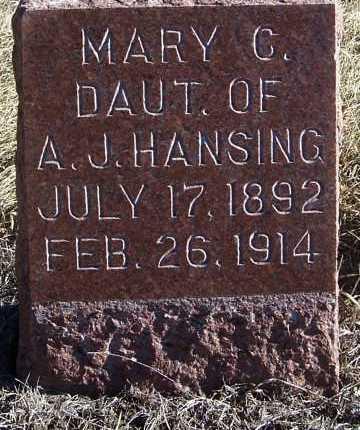 HANSING, MARY A. - Washington County, Nebraska | MARY A. HANSING - Nebraska Gravestone Photos