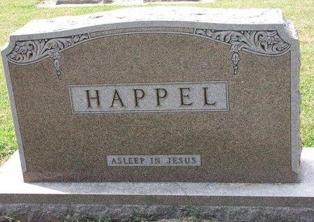 HAPPEL, *FAMILY MONUMENT - Washington County, Nebraska   *FAMILY MONUMENT HAPPEL - Nebraska Gravestone Photos