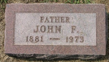 HAPPEL, JOHN F. - Washington County, Nebraska   JOHN F. HAPPEL - Nebraska Gravestone Photos