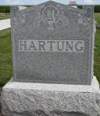 HARTUNG, *FAMILY MONUMENT - Washington County, Nebraska | *FAMILY MONUMENT HARTUNG - Nebraska Gravestone Photos