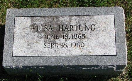 FRANKE HARTUNG, ELISA KATHERINE - Washington County, Nebraska | ELISA KATHERINE FRANKE HARTUNG - Nebraska Gravestone Photos