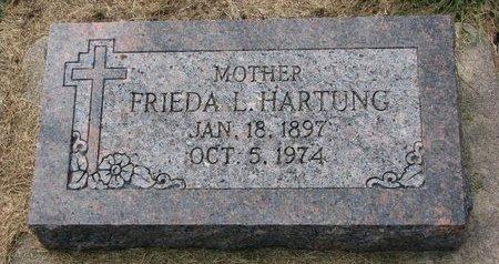 HARTUNG, FRIEDA L. - Washington County, Nebraska | FRIEDA L. HARTUNG - Nebraska Gravestone Photos
