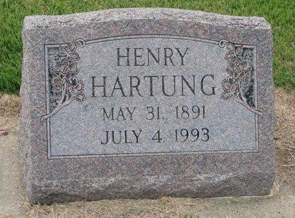 HARTUNG, HENRY - Washington County, Nebraska | HENRY HARTUNG - Nebraska Gravestone Photos